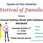 Fashion Show and Monte Carlo Night – Saturday, October 1 – Click here for info!