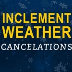 ALL EVENING ACTIVITIES CANCELLED – MONDAY, JAN 8