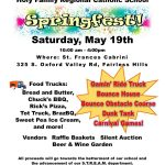 Holy Family SpringFest – Saturday, May 19!